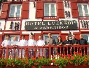 hôtel euzkadi à Espelette