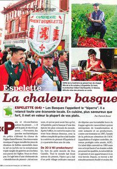 """Article paru dans """"Le chasseur français"""" numéro 282"""