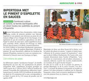 """Article paru dans """"Objectif Aquitaine"""" numéro 196"""