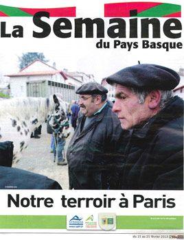 """bipertegia dans """"La semaine du Pays Basque"""""""